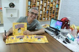Autor cria personagem para ajudar crianças com TDAH