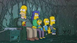 Maratona especial de Halloween de com episódios de terror de Os Simpsons