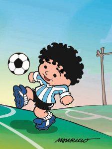 Mauricio de Sousa homenageia Maradona