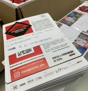 3º Festival Imaginários Urbanos envia  'cartas dispositivo' contendo obras de arte