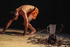 Espetáculo Oralidanças com a  Cia Balé Baião de Itapipoca