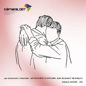 Marcelo Stockler assina a  6ª edição do Azulejo da Câmara LGBT