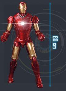 Mítica armadura de Tony Stark ganha réplica colecionável