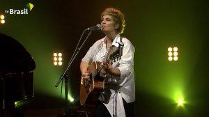Isabella Taviani em show exclusivo na TV Brasil