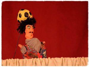 Teatro de bonecos no Projeto Palavras