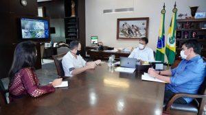 Abrasel no Ceará se reúne com Camilo Santana para discutir a reconstrução do setor de alimentação fora do lar