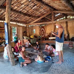 Exposições e espetáculo  marcam a conclusão de projeto da Escola de Artes de Moita Redonda