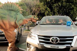 Fortaleza  vai receber o Jurassic Safari Experience em novembro