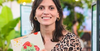 Lia Sanders lança livro ilustrado de literatura para crianças  na  Biblioteca Pública Estadual do Ceará