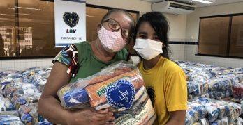 LBV faz campanha para doação de alimentos